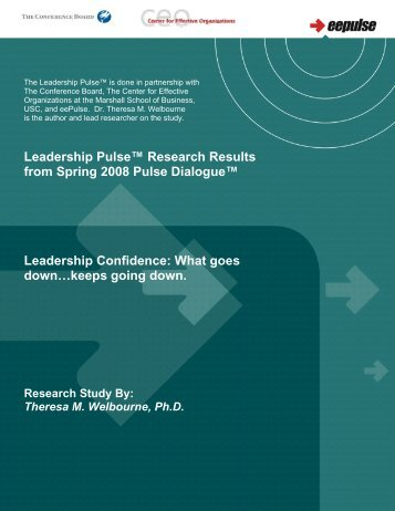 Leadership Confidence - eePulse