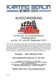 Reglement 2013 deutsch - Karting Berlin