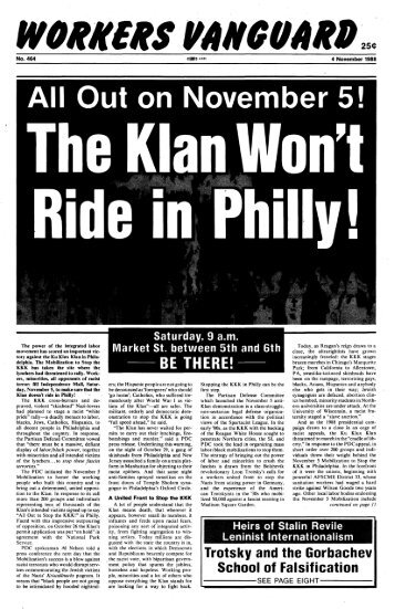 No. 464, November 4, 1988 - Marxists Internet Archive