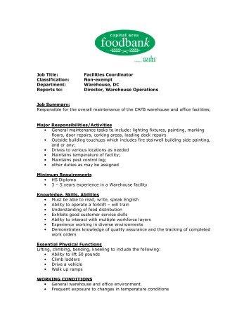 Job Description Job Title: PT Research Coordinator Classification ...