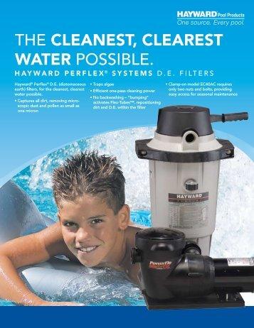 Hayward Perflex® Systems D. E. Filters - Brochure