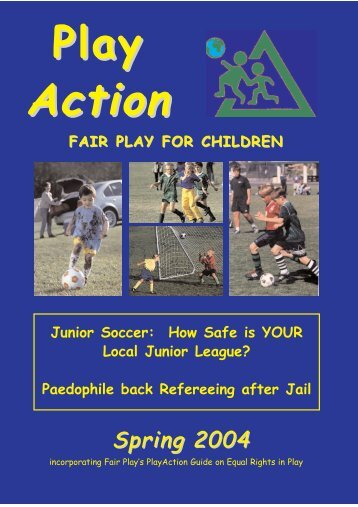 PlayAction: Spring 2004 - Fair Play For Children