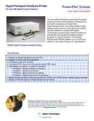 HyperTransport Analysis Probe - FuturePlus Systems
