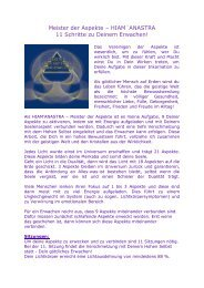 Meister der Aspekte – HIAM´ANASTRA 11 Schritte ... - Wege ins Licht