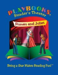 Romeo and Juliet - Mini - Playbooks® Roleplay Reader