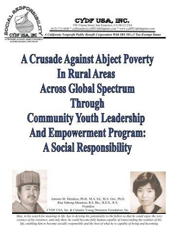 Community Youth Leadership - Calantas Young Dreamers ...