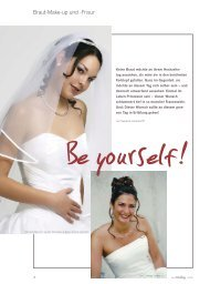 Braut-Make-up und -Frisur - Studio Susanne Lamprecht
