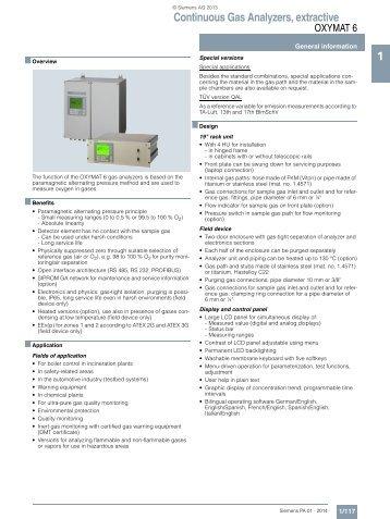 Ultramat6 sil safety manual en 01 | safety | technology.