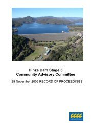 29 November 2006 - Hinze Dam Stage 3