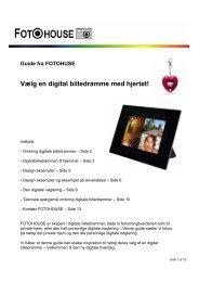 PDF guide til digitale billedrammer