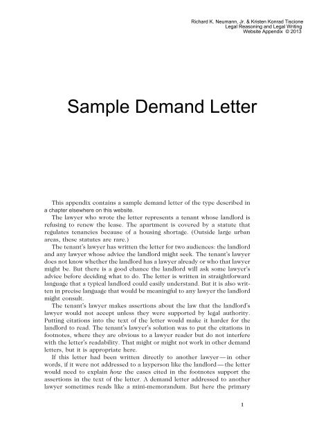 Demand Payment Letter Sample from img.yumpu.com