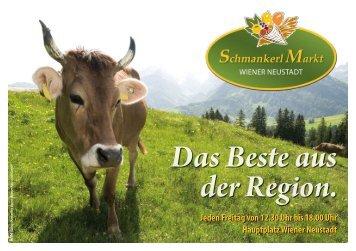 Das Beste aus der Region. - Kultur Marketing Event - Wiener ...