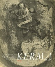 Page 1 Page 2 Archaeological excavations at Kerma (Sudan) By ...