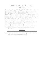 Legislation Packet (updated February 15, 2012)