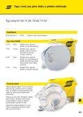 plné dráty a plněné elektrody svařované pod ochranným plynem - Page 5