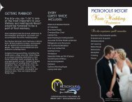 Metropolis Weddings - Visit Eau Claire