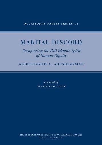 Marital Final Text - IIIT(UK)