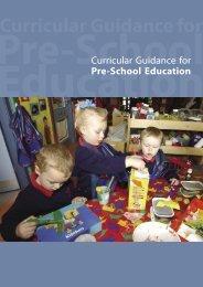 Curricular Guidance for Pre-School Education