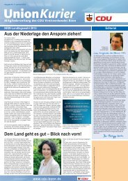 Juni - Juli - CDU-Kreisverband Bonn