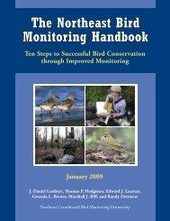 Northeast Monitoring Handbook - American Bird Conservancy
