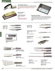 JB Prince Equipment Catalog