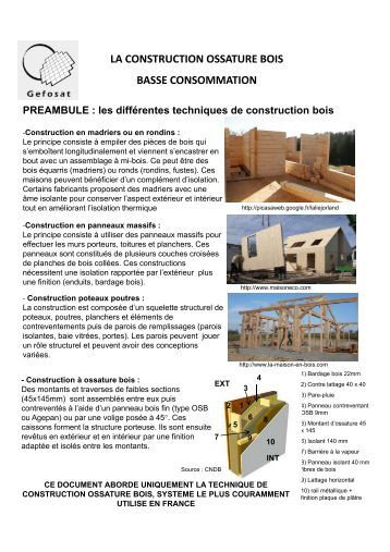 Coupe horizontale 3 4 5 6 for Construction bois montpellier