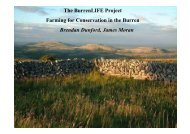 The BurrenLIFE Project Farming for Conservation in the Burren ...