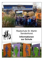 Informationsbroschüre - Realschule St. Martin