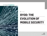 BYOD: THE EVOLUTION OF MOBILE SECURITY - Bitpipe