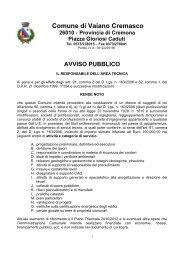 AVVISO PUBBLICO professionisti - Ordine dei Geologi della ...