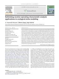 Rethinking receiver operating characteristic analysis applications in ...