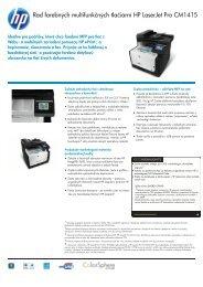 IPG HW Commercial MFP Datasheet_CM1415 - eD' system Czech, as
