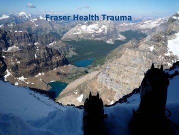 Fraser Health Trauma Services