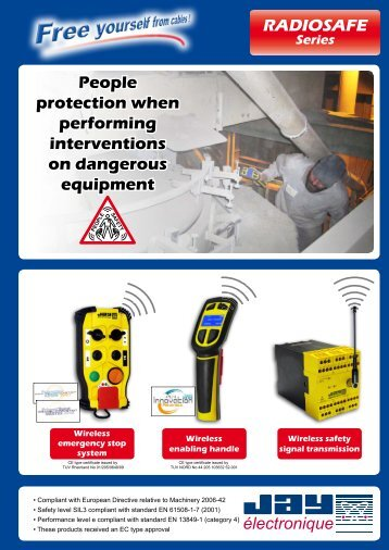 RADIOSAFE People protection when performing ... - ComSystem A/S