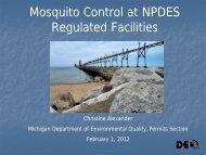 Michigan's Mercury Permitting Strategy - Michigan Mosquito Control ...