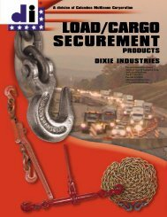 LoadBinders - Products On American Crane & Equipment Corp.