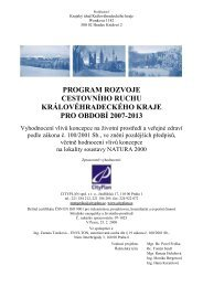 program rozvoje cestovního ruchu královéhradeckého kraje pro ...