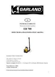 szczegółowe informacje DO POBRANIA - Mega Maszyny - sprzęt ...