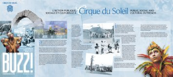 Photos Camirand, Lyne Charlebois, Céline ... - Cirque du Soleil