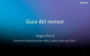 HEADER SLIDE - Sony Creative Software