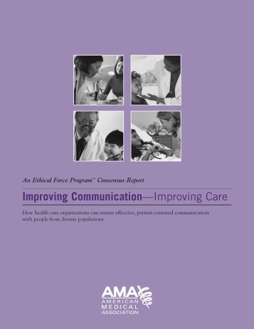 Improving Communication—Improving Care - Michigan Health ...