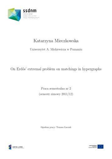 Katarzyna Mieczkowska - ssdnm