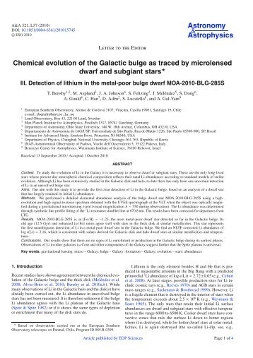 PDF (158.4 KB) - Astronomy & Astrophysics
