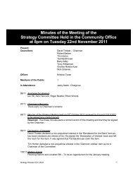 Nov 2011 - Watlington Parish Council