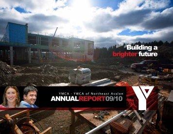 YMCA-YWCA (Northeast Avalon) Annual Report 2010 - the YMCA of ...