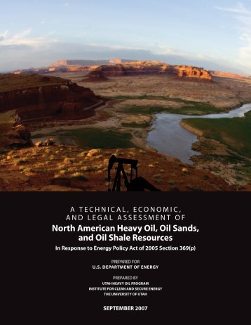 North American Heavy Oil, Oil Sands, and Oil Shale Resources