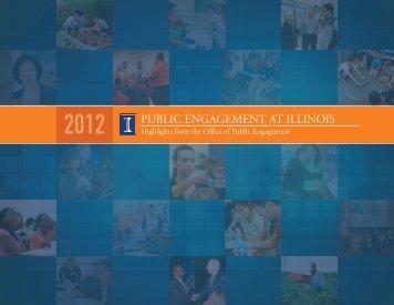 Public EngagEmEnt at illinOis - University of Illinois at Urbana ...