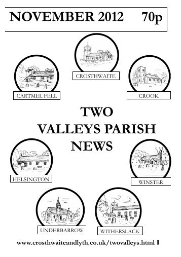 November 2012 - The Parish of Crosthwaite and Lyth