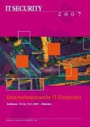 Konferenzbroschüre zum Download (PDF) - usp MarCom