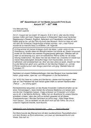 Bericht 1 PDF - Swiss Jaguar E-Type Club